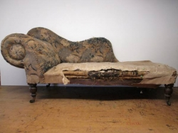 Victorian Scroll Chaise Longue