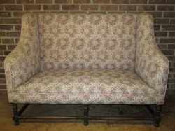 Edwardian Two seater couch c1910