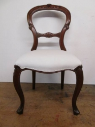 Hand Carved Childs Chair