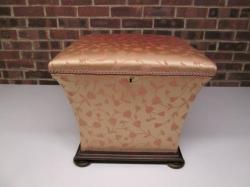 Mid-Victorian Hinged Ottoman/Storage Box