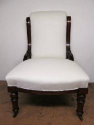 Edwardian Walnut Chair c1910