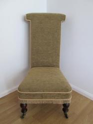 Victorian Prie Dieu Chair