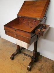 William IV Rosewood Davenport/Work Desk