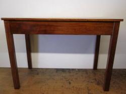 1950/60s Solid Beech & Mahogany Dining, Kitchen, Work , Pub/Restaurant Tables