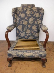 Early Parker Knoll Stretcher Chair