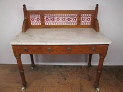 Victorian Pitch Pine Washstand