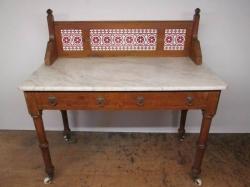 Victorian Pitch Pine Washstand