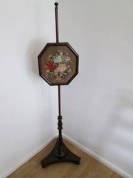 Victorian Pole Screen
