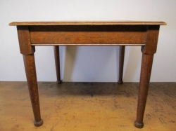 Pair of Solid Oak Plank Top Tables