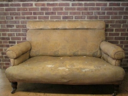 Traditional Victorian Two-Three Seater Sofa