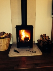 7.5kw Multi fuel stove