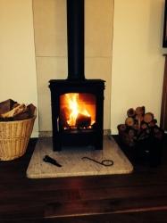 7.5kw Multi fuel stove