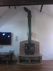 12kw multi fuel cast iron stove