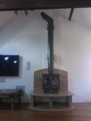 12kw multi fuel cast iron stove