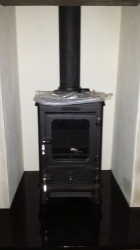 4kw Multi fuel cast iron stove