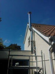 Stainless Steel Twin Wall Insulated Flue
