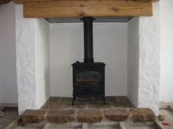 5kw Multi fuel cast iron stove