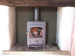 5kw Mu;ti fuel cast iron stove
