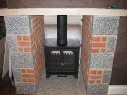 8kw Multi fuel stove