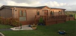 2 bedroom lodge for sale £124,950.00