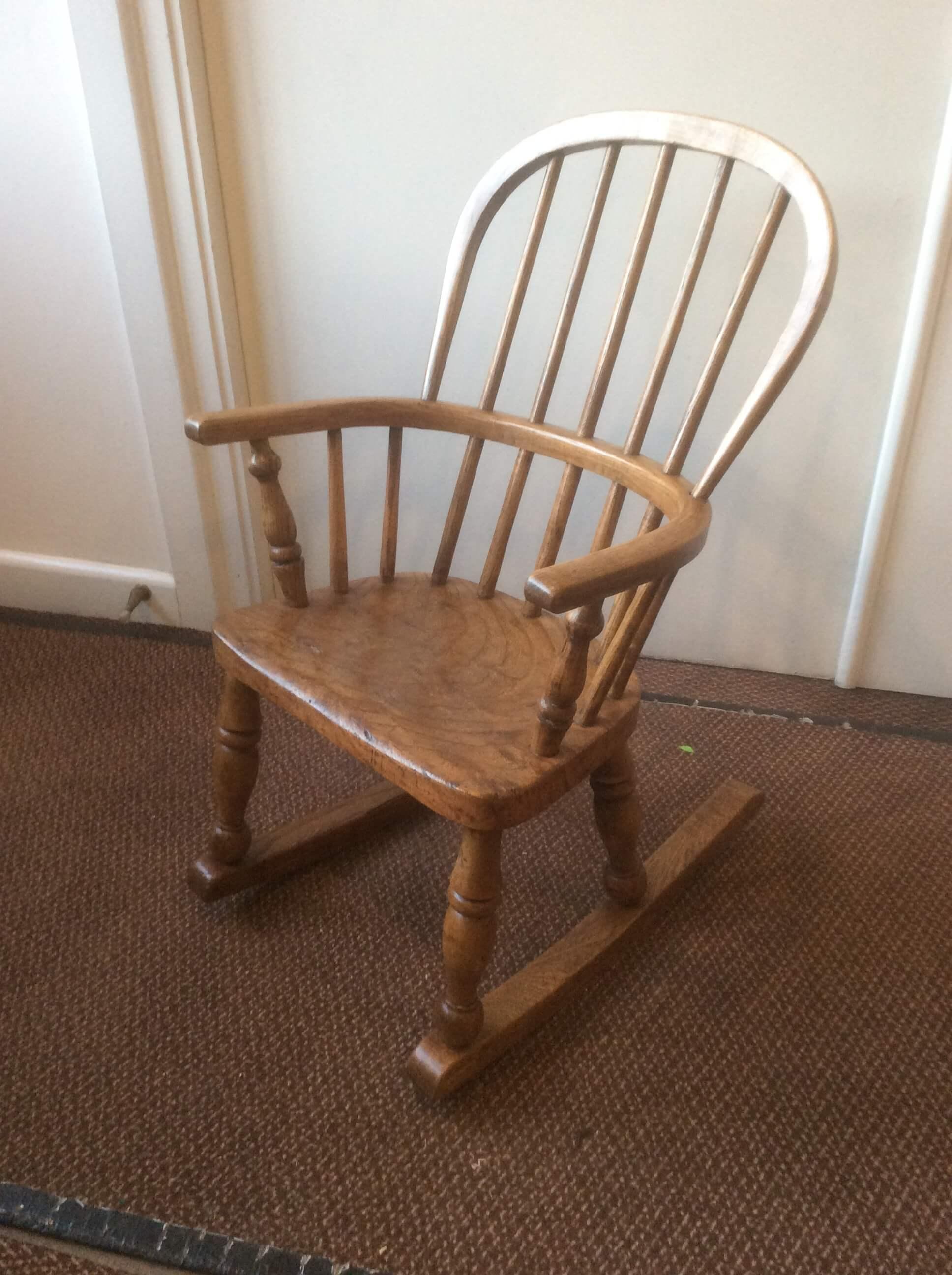 Child's Windsor Rocking Chair