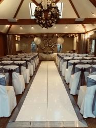 Stunning White LED Aisle