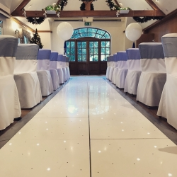Make your walk up the aisle that little bit different