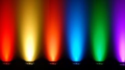 Uplighting is available in a variety of colours