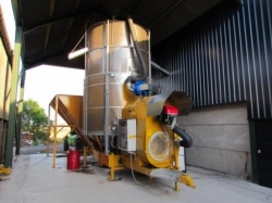 Mecmar 25 tonne mobile drier for Messrs