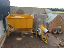 Mecmar 12 tonne mobile drier