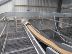 Skandia curved conveyor