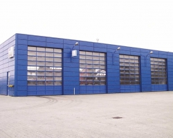 DMS T500 Sectional Overhead Door System