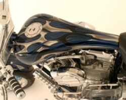 Custom motorcycle