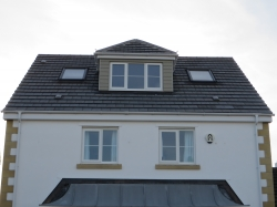 New roof structure fitted , new fascia's and soffits ,Dormer and two velux windows fitted , upvc windows .