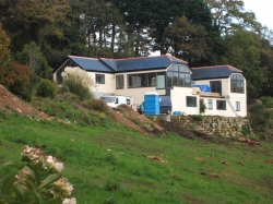 Property fully finished , new bedrooms , entrance , kitchen and lounge , Velfac windows fitted , ground source heating fitted .