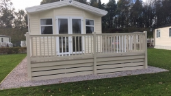 2017 model 2 bedroom static caravan for sale £39,495