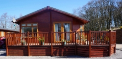 2 bedroom lodge for sale £79,950
