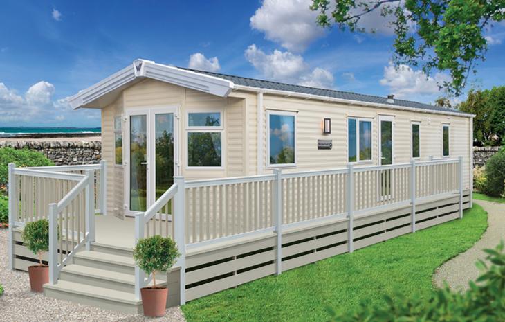 2017 Modern 2 Bedroomed Holiday Caravan 38' x 12' - £39,495
