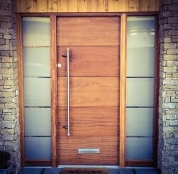 Contemporay doors