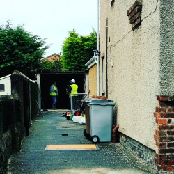 Demolition of Garage and Removal of Garden Wall. Meols, Wirral