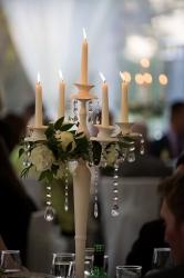 Our Vintage candelabra at Oldwalls Gower