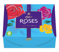 Box of Cadbury's Rose's