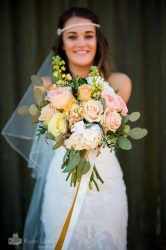 Our gorgeous Bride Ngaire, who got married to Luke at Sylen Lakes this Spring