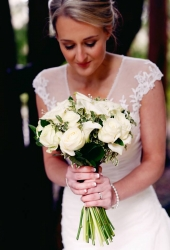 Our beautiful bride Stephanie, who got married at Manor Park Country House