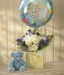 Blue Lullaby Baby Gift Set