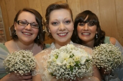 Our Beautiful Bride Jenna, who got married at the Oxwich Bay Hotel