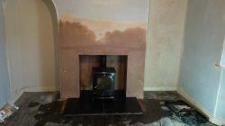Woodburner Installation