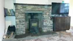Fireplace with Wood Burner