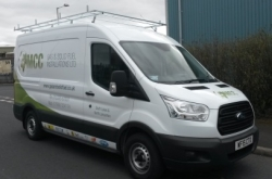MCC Heating Services' Van