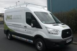 MCC Heating Services' Van